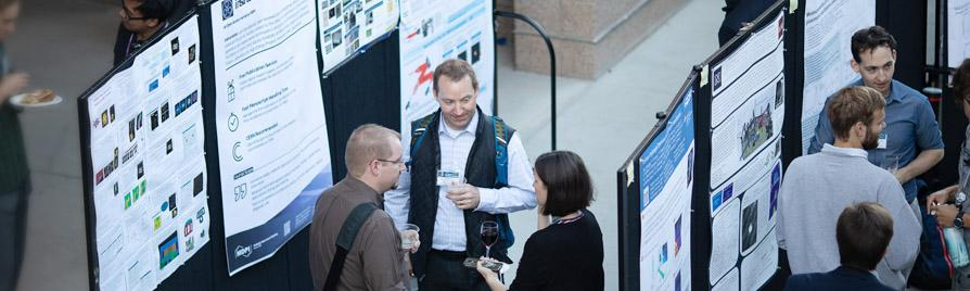 Photo: Poster Session Attendees